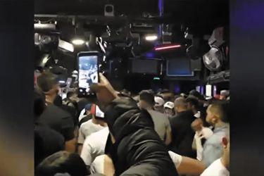 Soprenden a más de 260 personas en fiesta clandestina al interior de local en Providencia