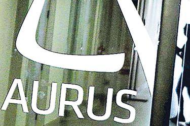 El antiguo logo de la oficina de Aurus.