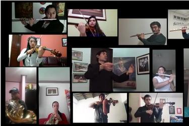 Clases y orquestas a distancia: la agenda de los músicos clásicos chilenos en las redes sociales