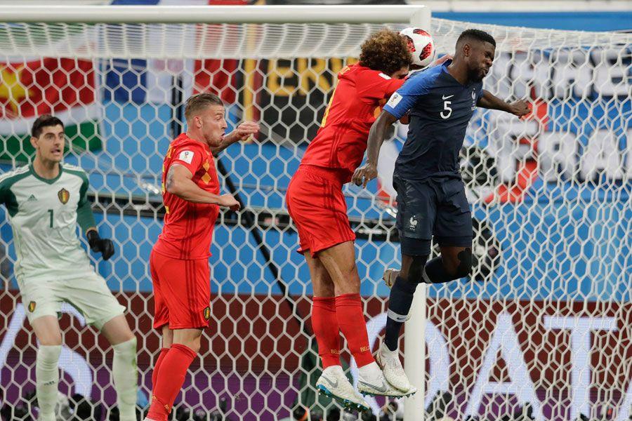 Umtiti, gol, Francia, Bélgica