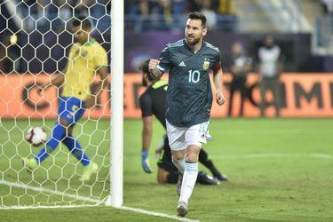 Messi le da la victoria a Argentina sobre Brasil