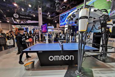 Forpheus: El robot que juega ping-pong y me humilló en CES 2020