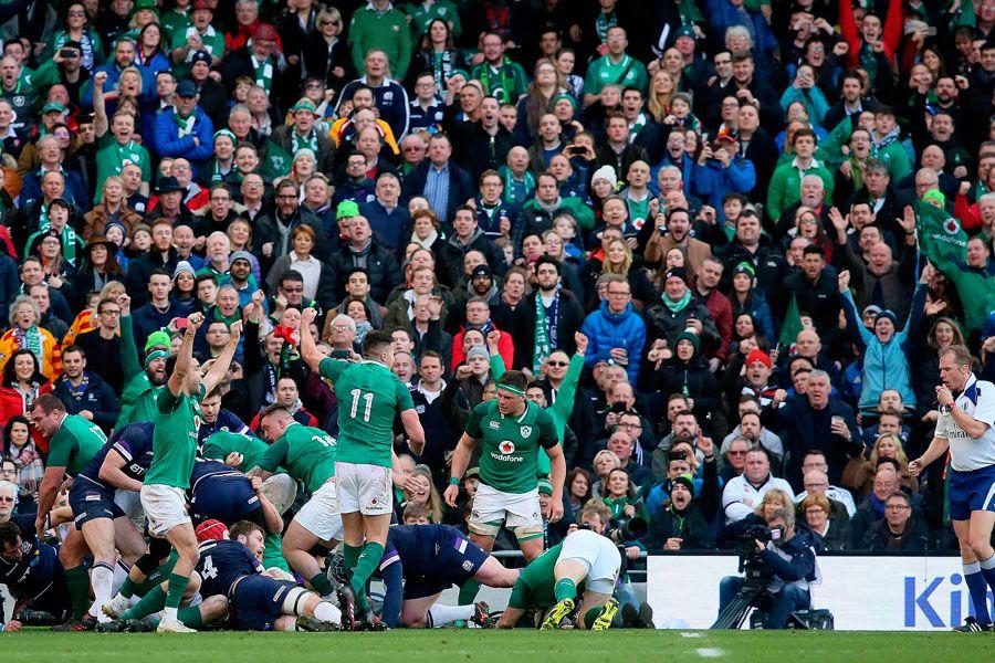 Irlanda, Escocia, Seis Naciones