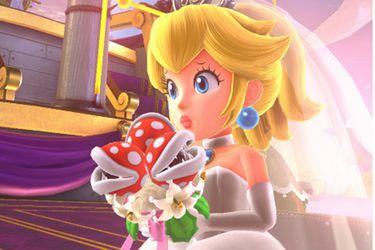 Mario podrá vestirse de novia en Super Mario Oddyssey