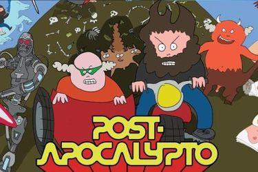 Vean el primer episodio de la serie animada Tenacious D - Post-Apocalypto