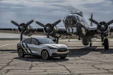 Con este exclusivo Mustang Mach-E, Ford rinde honores a las voluntarias que volaron en la II Guerra Mundial