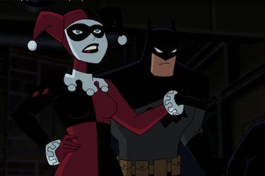 El tráiler de la película animada de Batman and Harley Quinn