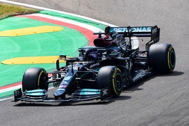 Va por otro festejo: Hamilton arrancará desde la pole en el GP de Emilia-Romaña