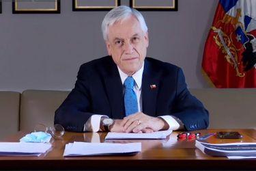 """Piñera saluda a Joe Biden y asegura que """"tendrá la misión de sanar el alma, impulsar el reencuentro y fortalecer la amistad cívica"""""""