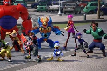 Actores de Big Hero 6 darán la voz a sus personajes en Kingdom Hearts 3