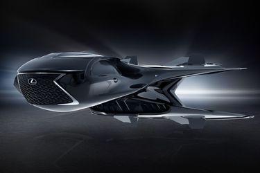 ¡Lexus arremete con su primera nave que veremos en Hombres de Negro!