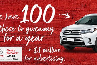 Toyota entrega gratuitamente 100 autos a microempresarios de Nueva Zelanda