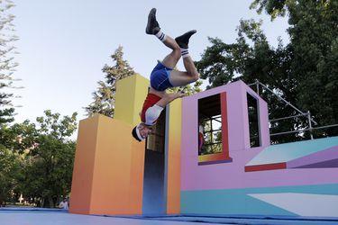 Primera funcion Highly Sprung en el Parque Quinta Normal.