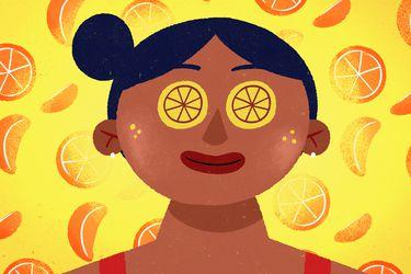 El poder de la vitamina C en el rostro