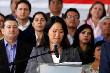 Keiko Fujimori indultará a su padre si es elegida presidenta de Perú en las próximas elecciones
