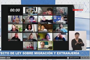 Migraciones: Senado rechaza indicación que permitía regularización extraordinaria hasta 90 días después de publicada la ley
