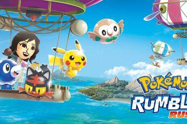 Pokémon Rumble Rush cerrará sus servicios a un año de su estreno