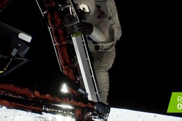 Nvidia recrea el aterrizaje del Apollo 11 utilizando el ray tracing