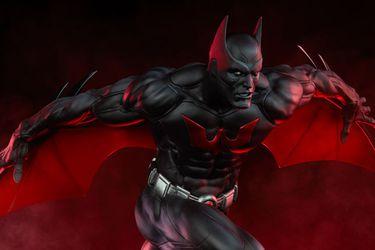 Esta es la nueva estatua premium deBatman Beyond
