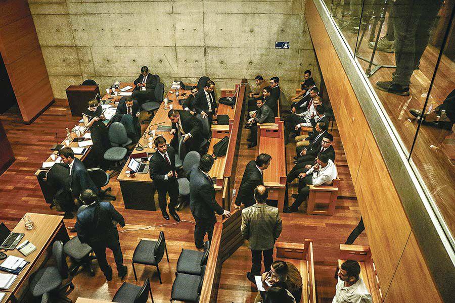 La audiencia se suspendió y continuará el 23 de diciembre. Foto: Luis Sevilla