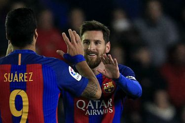 Luis Suárez, Lionel Messi
