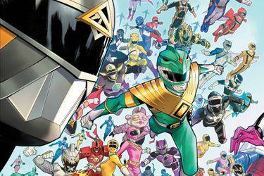 Los cómics de los Power Rangers serán relanzados con dos series nuevas