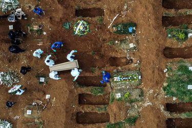 Brasil supera las 105.000 muertes y registra una media diaria de 989 fallecidos por Covid-19