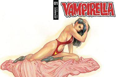 Vampirella #1 hizo historia para la editorial Dynamite