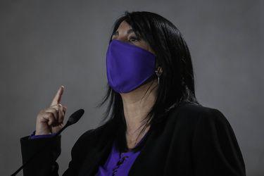 """Karla Rubilar y retiro del 10% de fondos de las AFP: """"Ojalá el Senado pueda ejercer su liderazgo"""""""