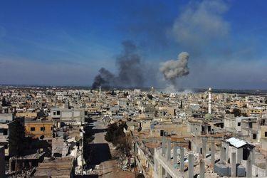 Al menos 22 soldados turcos murieron en bombardeo aéreo en Idlib