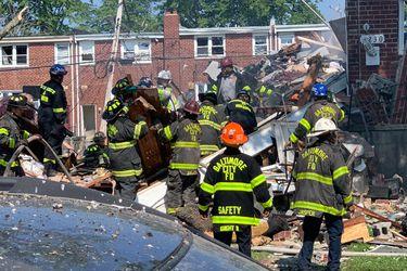Explosión por gas destruye tres edificios en Baltimore y  deja al menos un fallecido y dos heridos graves