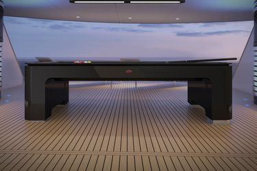 La última creación de Bugatti es una mesa de pool que cuesta 210 millones de pesos