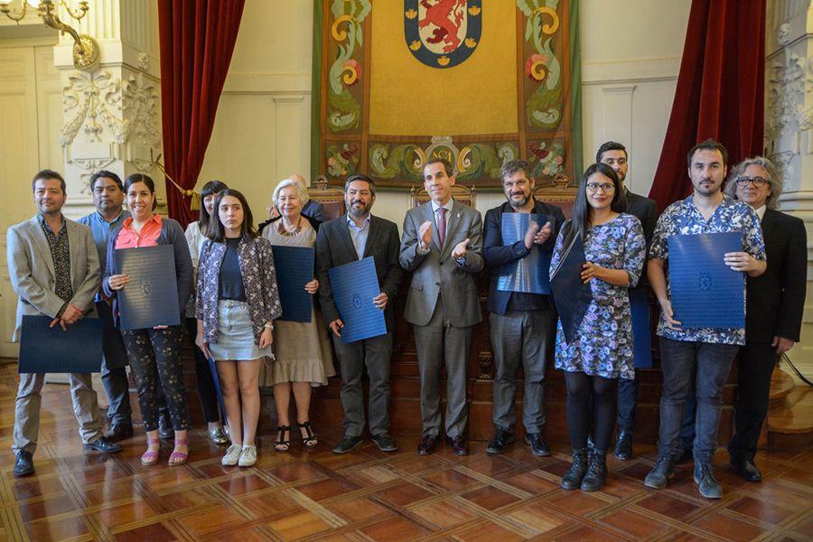 Ganadores Premio Municipal de Literatura 2018