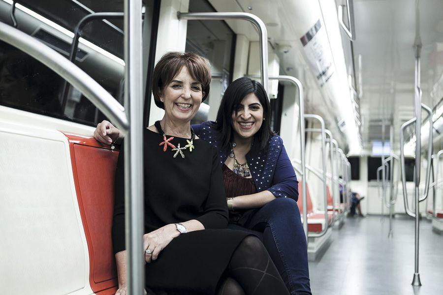 Entrevista, Gloria Hutt, Min Transporte