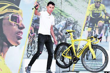"""Egan Bernal, primer sudamericano en ganar el Tour: """"Me siento orgulloso de dar esperanza"""""""