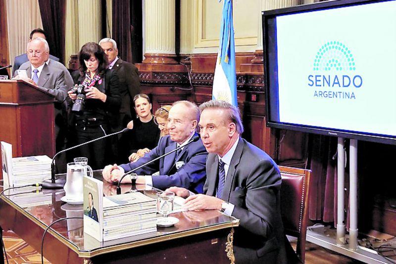 Imagen Menem Senado