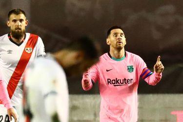 Con Messi, el Barcelona avanza en la Copa del Rey