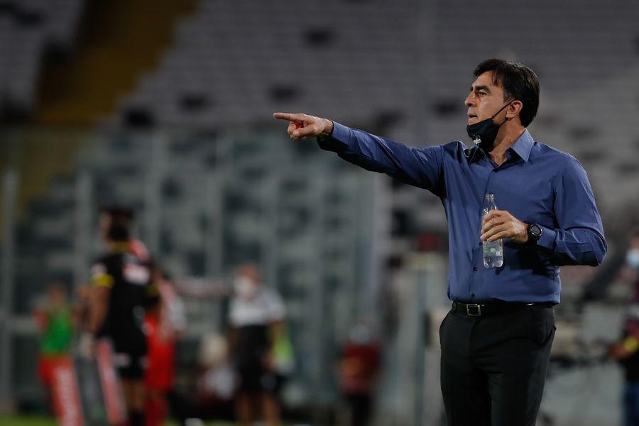 Gustavo Quinteros niega conflictos con la dirigencia de Colo Colo.