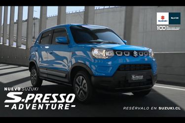 Suzuki Chile adelanta el nuevo S-Presso Adventurer