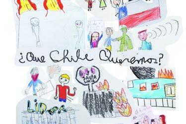 Lo que ven y dibujan los niños de Chile