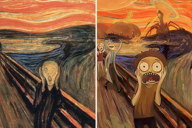 El grito - Edvard Munch