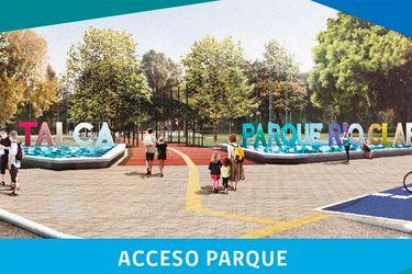 Hoy comienzan las obras de mejoramiento del Parque Río Claro en Talca