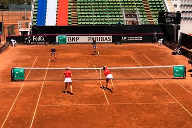 Chile, Venezuela, Fed Cup, Alexa Guarachi, Bárbara Gatica