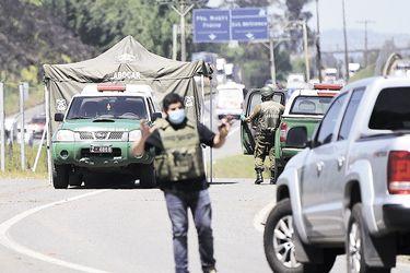 Carabineros envía equipo de refuerzo del OS-9 a La Araucanía para investigar muerte de cabo
