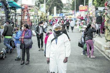 """Bolivia: """"Segunda ola"""" golpea con peak de nuevos casos de Covid"""