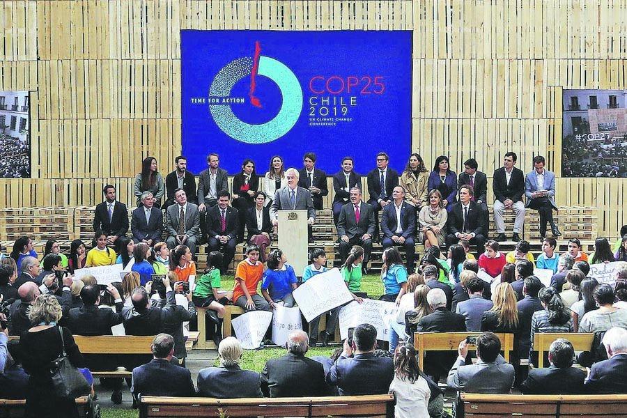 El Presidente de la Republica encabeza el lanzamiento de la cumbre sobre cambio climático COP 25