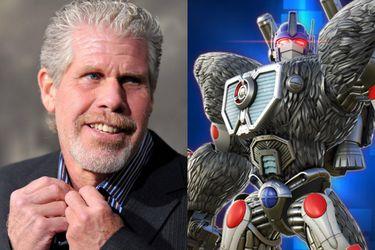 Ron Perlman será la voz de Optimus Primal en la próxima película de Transformers
