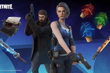 Chris Redfield y Jill Valentine de Resident Evil se suman a Fortnite