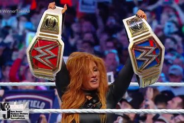 Becky Lynch ganó todo en el evento principal de Wrestlemania 35