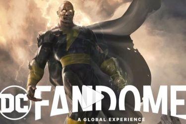 Dwayne Johnson promocionará a la película de Black Adam en el evento online DC FanDome